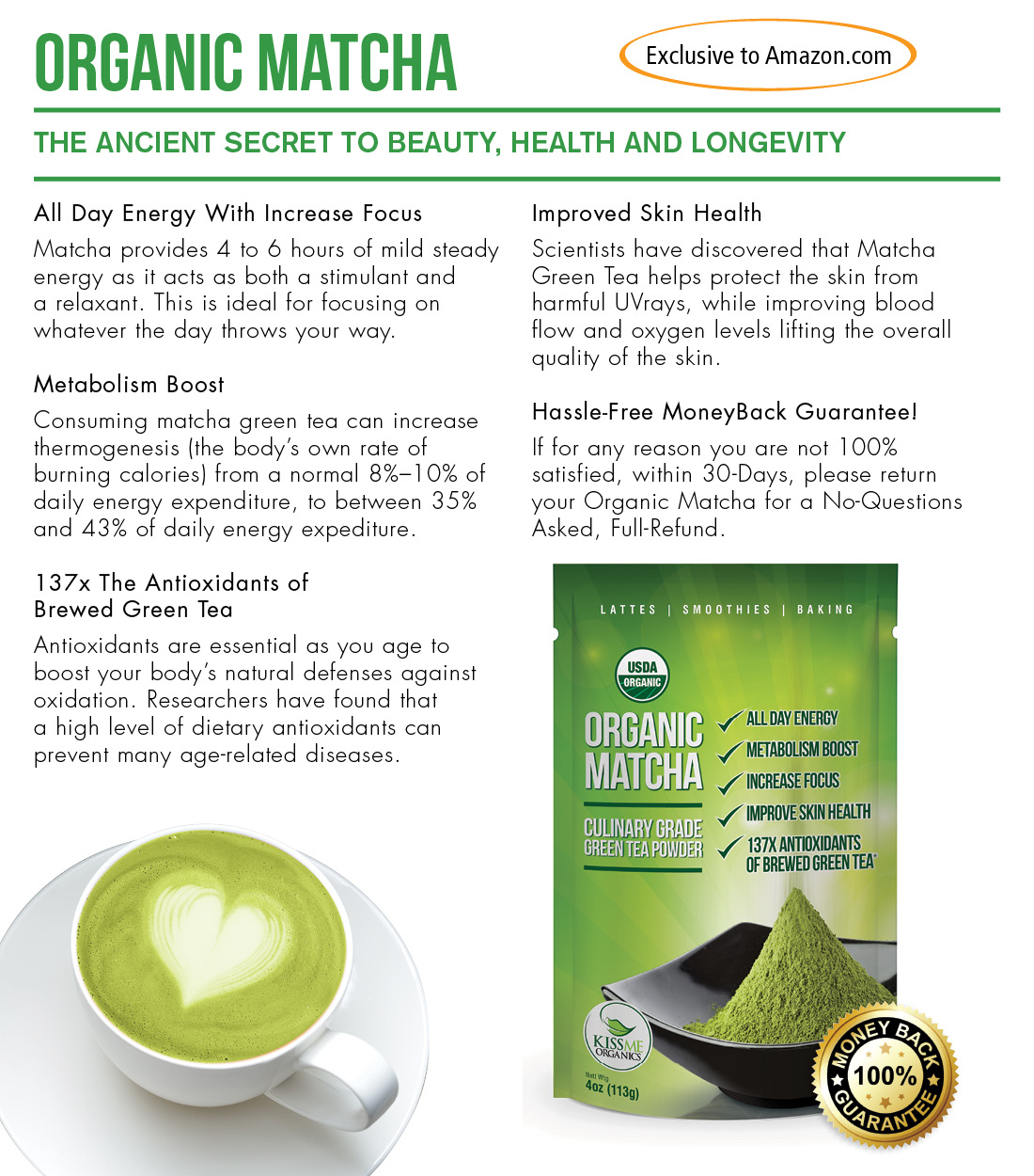 the health benefits of consuming organic green tea Try to choose a higher quality brand of green tea, because some of the lower quality brands can contain excessive amounts of fluoride  that being said, even if you choose a lower quality brand, the benefits still far outweigh any risk summary green tea is loaded with polyphenol antioxidants, including a catechin called egcg these antioxidants can have various beneficial effects on health.