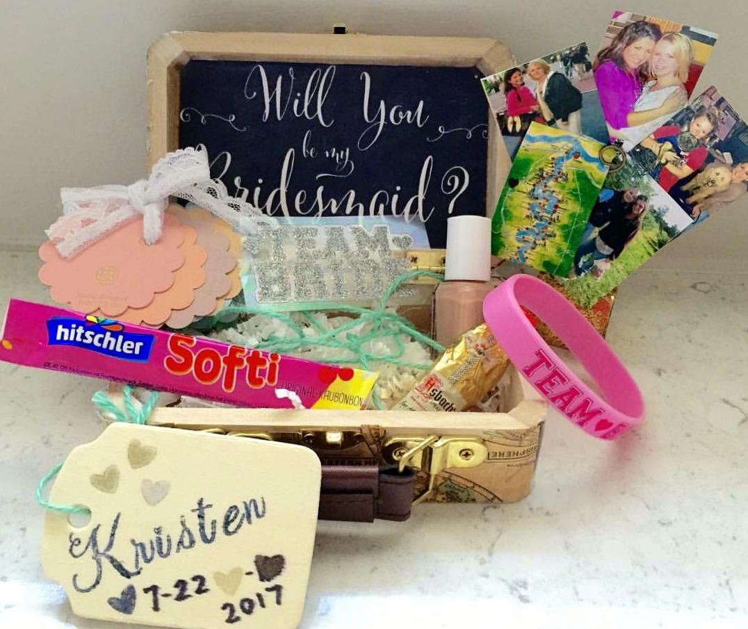 Diy Bridal Proposal Box You Bet Your Pierogi